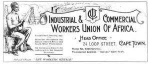 The Workers Herald - Official Organ of the ICU
