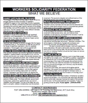 1998 WSF manifesto