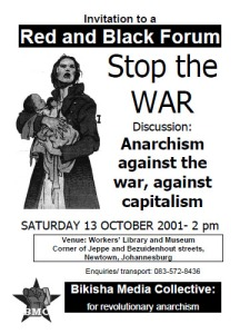 BMC - Red and Black Forum 13 October 2001