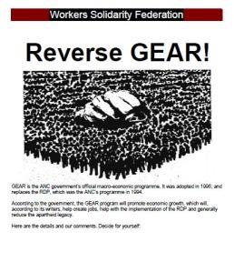 Reverse GEAR - WSF Leaflet