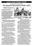 WSF leaflet: The Spanish Revolution (1936-37)