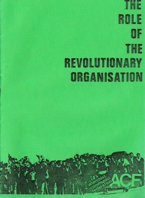 ARM The Role of The Revolutionary Organisation