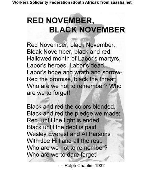 Poster WSF- red november