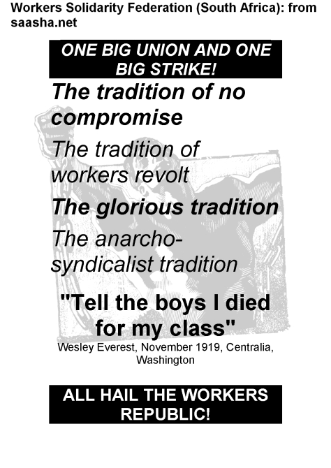 Poster WSF- workers republic