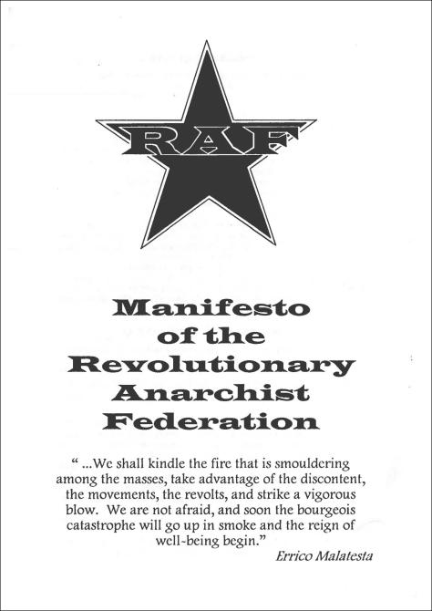 RAF Manifesto